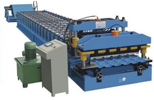 Encaustic Tile Roll Forming Machine